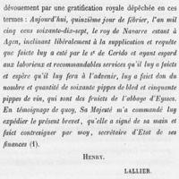 Brevet capitaine Séridos Agen 1577.jpg