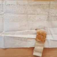 Lettres patentes d'Henri de Navarre confirmant les privilèges de Saint-Ybars (Lectoure, 21 février 1578) photo 1.jpg