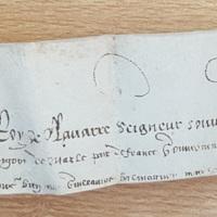 Lettres patentes d'Henri de Navarre confirmant les privilèges de Saint-Ybars (Lectoure, 21 février 1578) photo 5.jpg