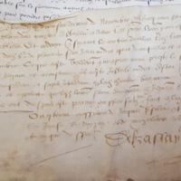 Survivance d'office accordée à Adhémar Mosnier (Périgueux, 27 juillet 1576) - AD Dordogne, 2 E 1853 (54) - photo 3.jpg