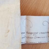 Lettres patentes d'Henri de Navarre confirmant les privilèges de Saint-Ybars (Lectoure, 21 février 1578) photo 4.jpg