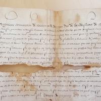 Survivance d'office accordée à Adhémar Mosnier (Périgueux, 27 juillet 1576) - AD Dordogne, 2 E 1853 (54) - photo 2.jpg